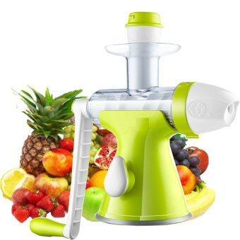 [IMPORT] 2 in 1 Slow Juicer & Ice Cream Maker - Green & White Lazada Malaysia