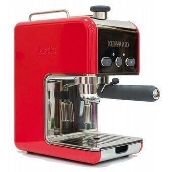 Kenwood KMIX Espresso Coffee Maker ES020 Red [Stainless Steel]? Lazada Malaysia