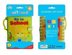 Learning Planet Washable Cloth Book with Ring (Go to School)