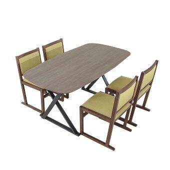 Lorenzo Legna Dining Table Amp Dining Chair Set 1 4 Elm