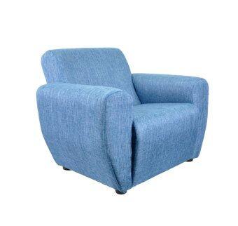 Modern Fabric Mini Sofa Arm Chair Blue Lazada Malaysia
