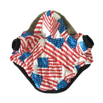 Dog Coat in American Flag Dog Jacket Winter Hoodie Costume for Small ...: www.lazada.com.my/niceeshop-dog-coat-in-american-flag-dog-jacket...