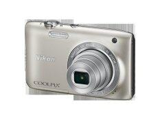 Nikon Coolpix S2900 20.1mp Point And Shoot Digital Camera colour : silver
