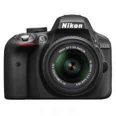 Nikon D3300 24.2MP Kit 18-55mm + 8GB memory card + Bag Black