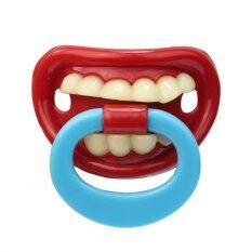 Orthodontic Teeth Prank Red Lip Pacifier