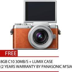Panasonic Lumix DMC-GF8 16MP 12-32MM (Brown)