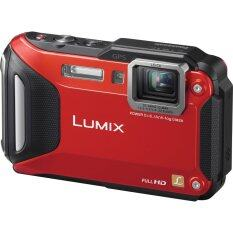 Panasonic Lumix FT6 (Red) Waterproof Digital Camera (Panasonic M'sia Warranty) + 8GB + Case