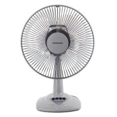 "Pensonic 12"" Table Fan Transparent Plastic Blades 3 Speed On/Off Switch PEN-AF-30B"