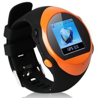 Pg88 Gps Tracker Sos Watch Mobile Phone For Kids Old Man With Besttouch Screen Function Smart Watch Orange 12147986 on gps location tracker html