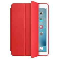 "PU Leather Book Cover Stand Case for Apple iPad Pro 9.7"" (Red)"