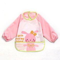 Rabbit Icon Baby Waterproof Anti-Dressed Bib