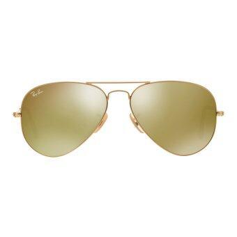 Ray Ban Glasses Frames Warranty : Ray-Ban Aviator Flash Lenses RB 3025 112/93 Matte Gold ...