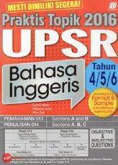 Sasbadi Praktis Topik UPSR Bahasa Inggeris Tahun 4, 5 and 6