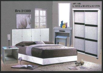 sg best buy queen size bedroom set white lazada malaysia
