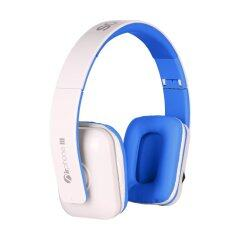 Sonic Gear AirPhone III Bluetooth Headset (White Blue)
