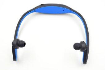 sport bluetooth 4 0 headset for iphone 6 5 4 galaxy s5 s4 3 ios android with microphone blue. Black Bedroom Furniture Sets. Home Design Ideas
