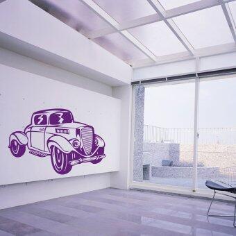 Upantech Classic Vintage Old Cars Diy Art Vinyl Wall