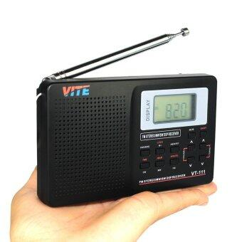vite vt 111 portable dsp fm stereo mw sw lw tv radio multiband radio receiver digital alarm. Black Bedroom Furniture Sets. Home Design Ideas