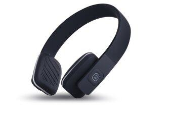 wireless bluetooth on ear headphones black lazada malaysia. Black Bedroom Furniture Sets. Home Design Ideas
