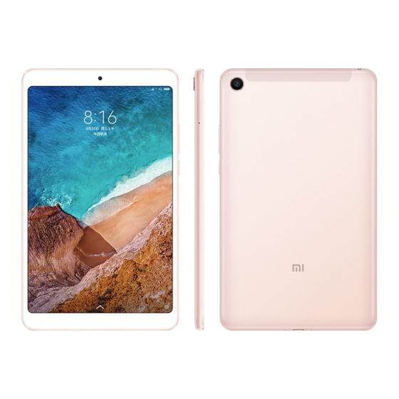 Xiaomi Mi Pad 4 Tablet PC 8.0 inch MIUI 9 Qualcomm Snapdragon 660 Octa Core 4GB RAM 64GB eMMC ROM 5.0MP + 13.0MP Double HD Cameras Dual WiFi