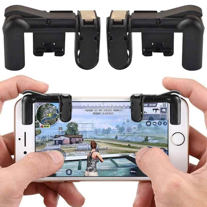 YCROWN Phone Gamepad Trigger Fire Button Aim Key L1R1 Shooter Controller PUBG V3.0 FUT1 – intl