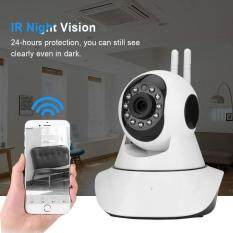 960P HD IR Night Vision 360° Panoramic WiFi Wireless IP Camera Mini Home Security Monitor US Plus – intl