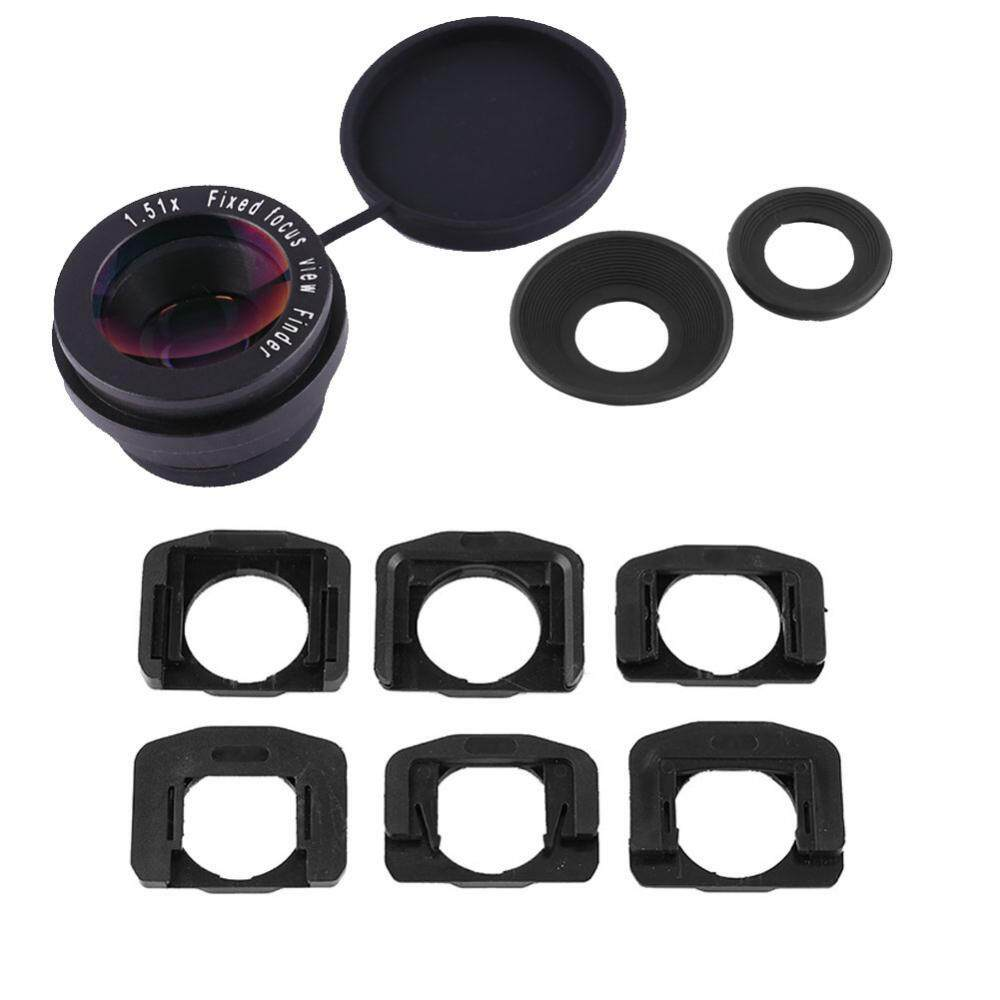 Durable 1.5X Fixed Focus Viewfinder Eyepiece Magnifier Eyecup Camera Accessories