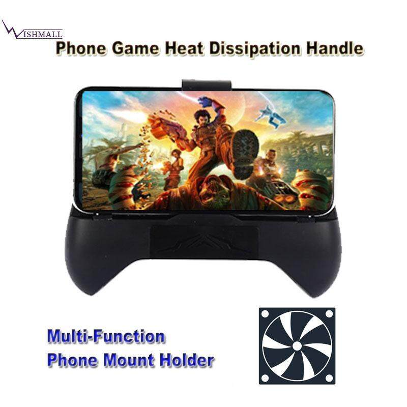 Wishmall Phone Radiator Holder Gamepad Controller Phone Gamepad Holder 1200mA