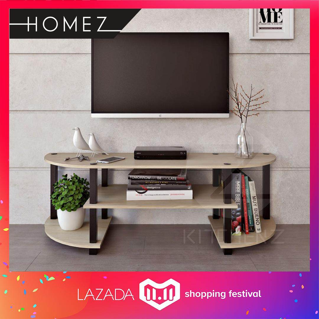 Furniture Products With Best Online Price In Malaysia Hanger Kayu Exclusif Warna Creeam Media Tv Storage