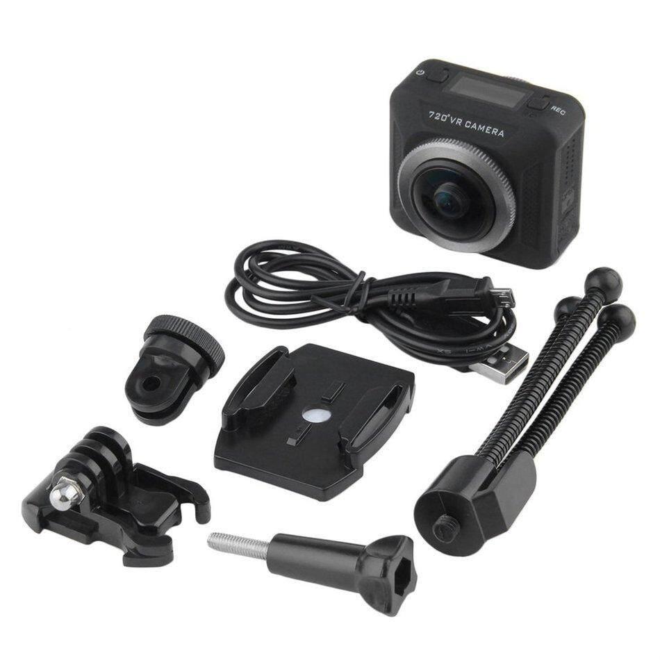 RUN2 SDW720 Action Camera 360 Degree Full Visual Angle Action VR Camera Recorder