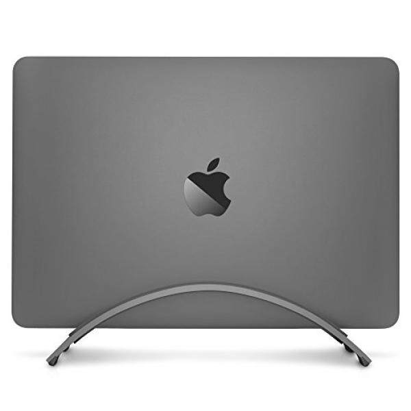 Twelve South BookArc for MacBook, space grey Space-saving vertical desktop stand for Apple notebooks – intl