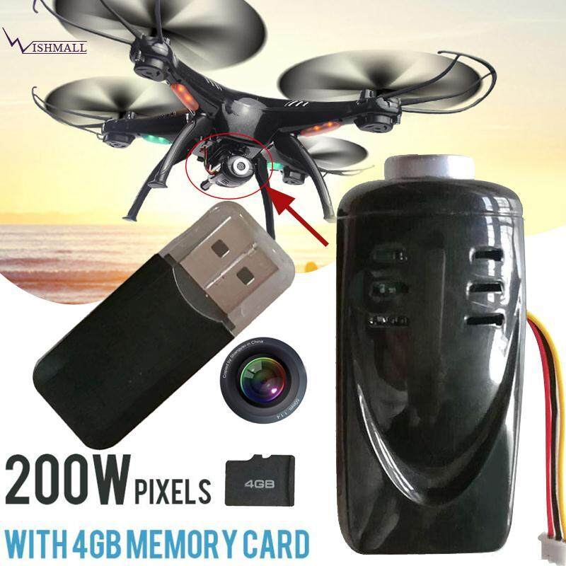 Wishmall for SYMA X5 X5C SYMA X5SC M68 Memory Card FPV Camera Kit Black Premium