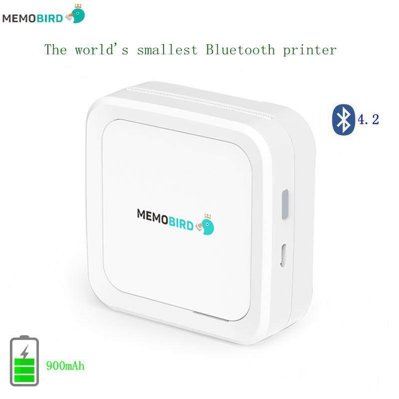 Zkyt Baru Bluetooth 4.2 Portable Printer G3 Mesin Cetak Foto Telepon Saku Stiker Mini Printer Termal Tatakan Meja Bambu
