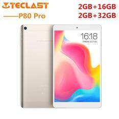 Teclast P80 Pro Tablet PC 8.0 inch Android 7.0 MTK8163 Quad Core 1.3GHz 2GB RAM 32GB eMMC ROM Double Cameras Dual WiFi HDMI