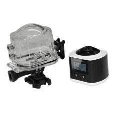 RUN2 Profession Panoramic CX6 0.96 Inch TFT Screen Display Sport Action Video Camera