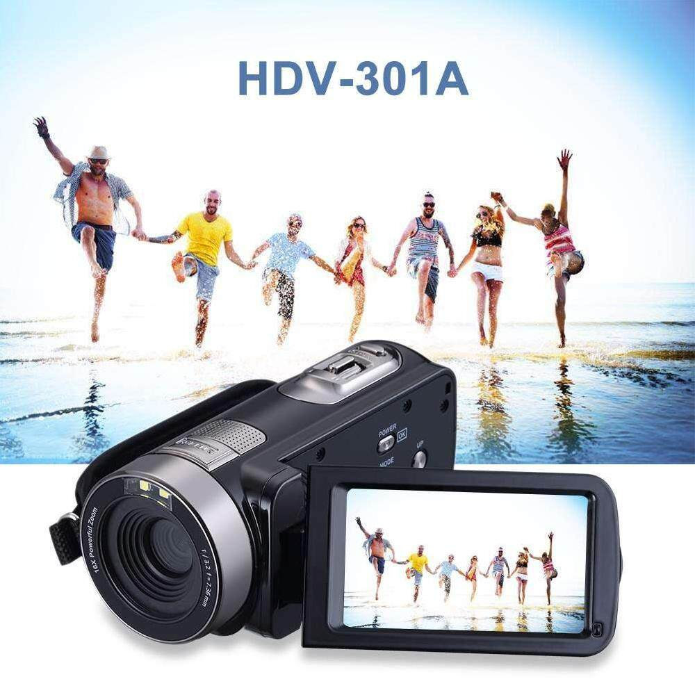 lagobuy 3.0 Inch LCD Digital Camera Camcorders HD Recorder 1080P 24 MP Video Camera US Plug – intl