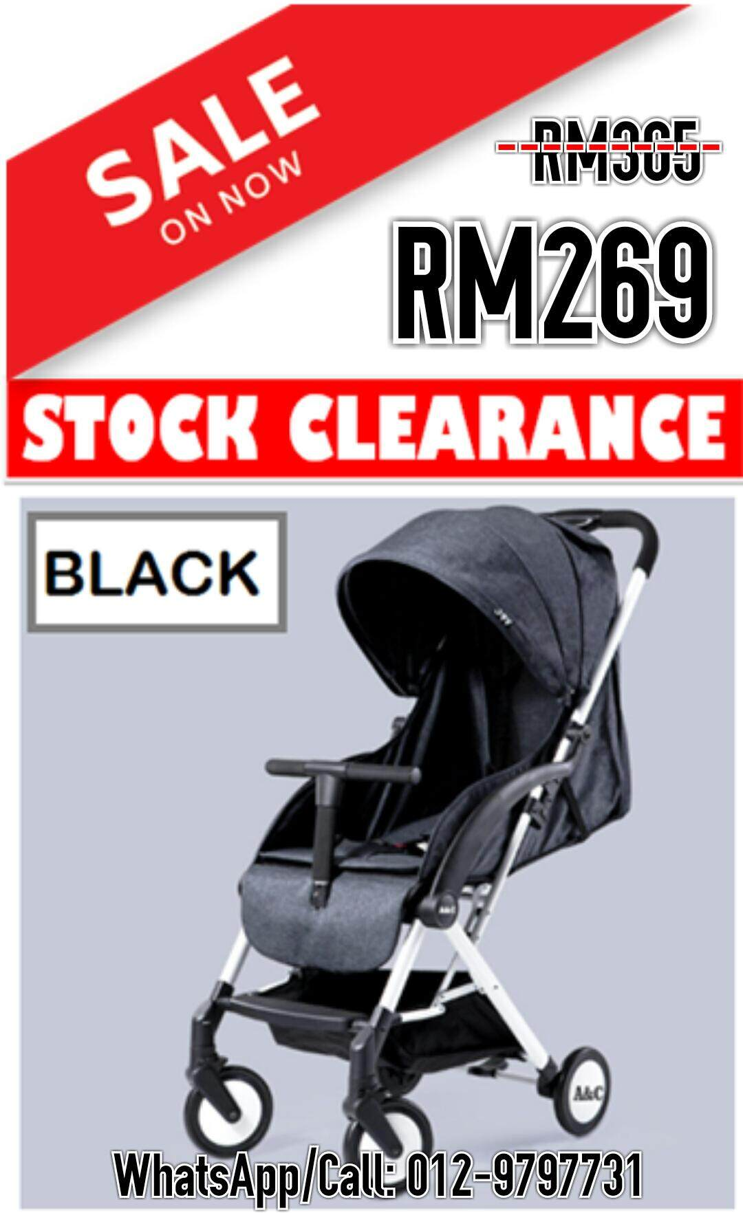 Popular Baby Strollers For The Best Prices In Malaysia Gb Stroller Majik Black