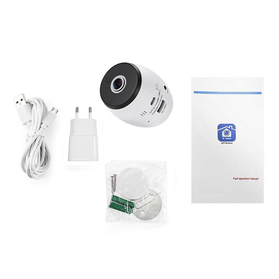 1080P Panoramic Wireless Infrared Smart Camera IQ01 With 180°Wide Angle