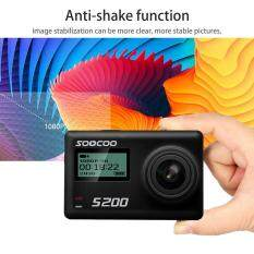SOOCOO S200 Action Camera Voice Control Ultra HD 4K WiFi Touch LCD Screen – intl