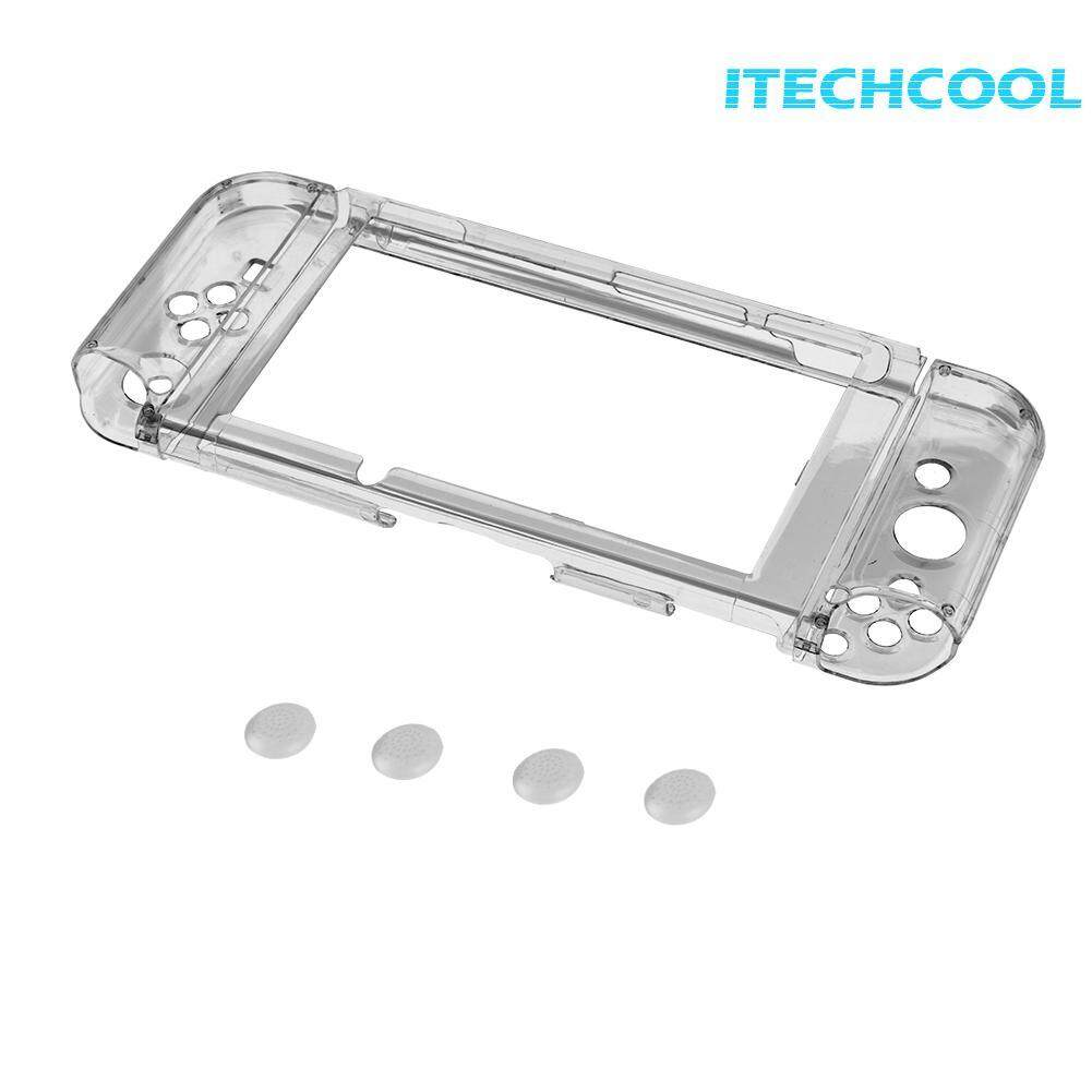 Professional Ultra Thin Transparent Clear Shockproof Protective Hard Case for Nintendo Switch