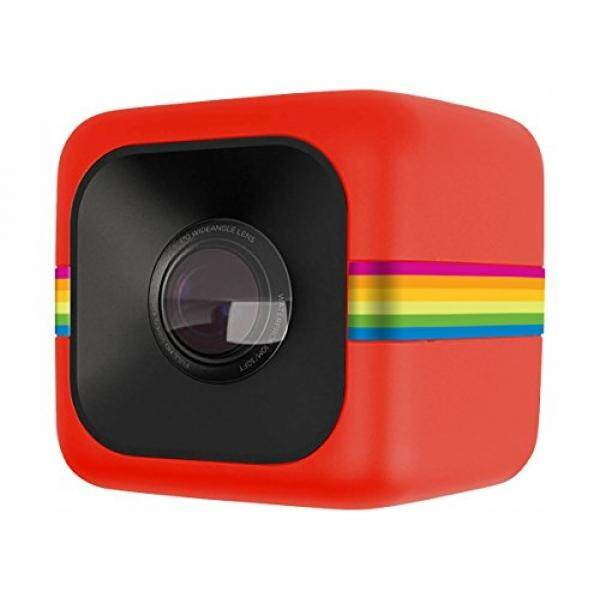 Polaroid Cube HD 1080p Lifestyle Action Video Camera (Red) - intl