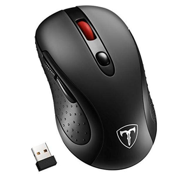 Habor Wireless Mouse, 2.4G Cordless Mouses Portable Optical Computer Mice with USB 3.0 Nano Receiver, 5 Adjustable DPI Levels, 6 Buttons, Power Saving Wireless Gaming Mouse for Laptop, PC, Macbook – intl