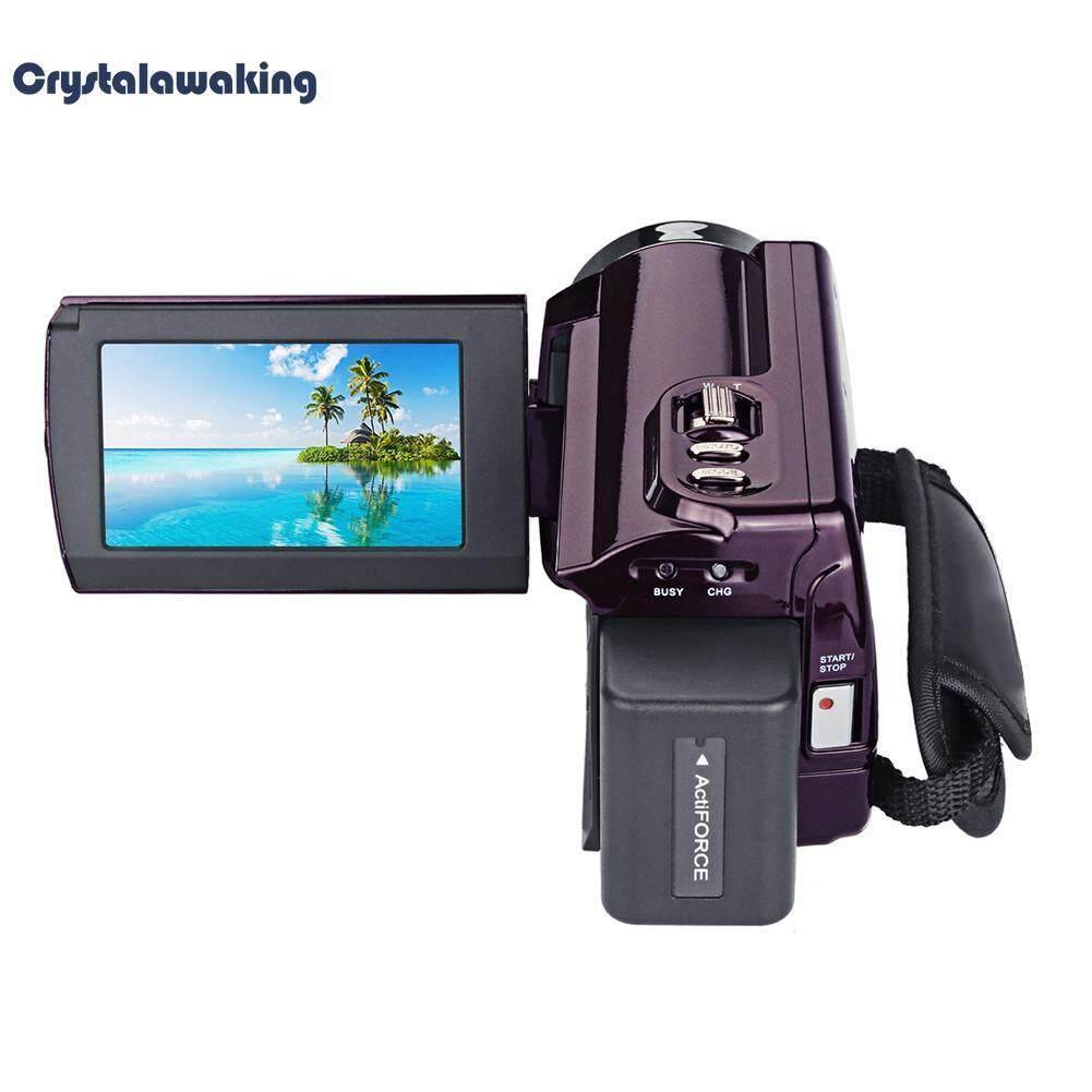 Digital IR Night Vision Camera 48MP 2160P 4K HD WiFi DVR Video Camcorder(Black)-US