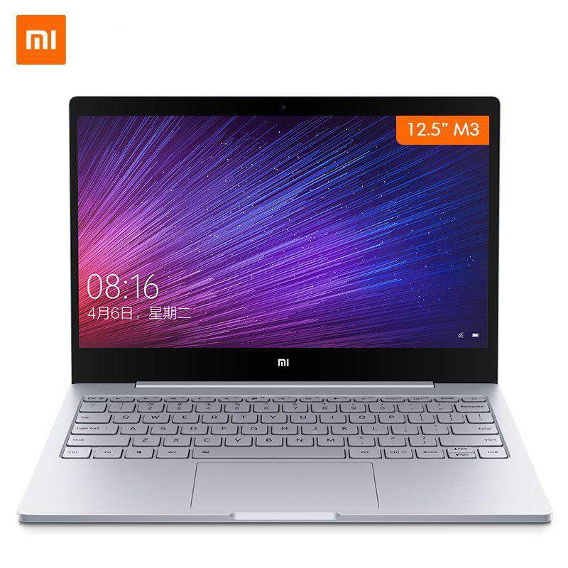 【Flash Deal】Original Xiaomi Mi Notebook Air 12.5 Inch Windows 10 7th Intel Core m3-7Y30 4GB RAM 128GB SSD Laptop -intl