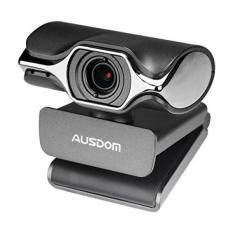 AUSDOM Webcam HD 1080P AW620 Web Computer Camera with Microphone for Desktop Computer PC Laptop USB Plug and Play for Skype Video Calling – intl