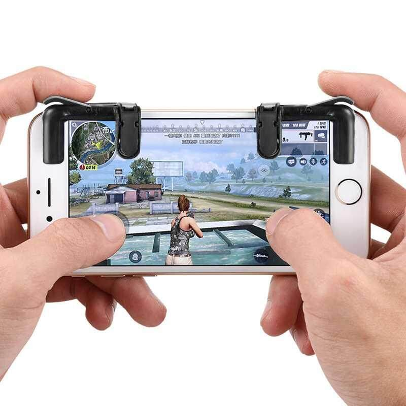 LITAO L1R1 Shooter Controller PUBG V3.0 FUT1 Phone Gamepad Trigger Fire Button Aim Key – intl