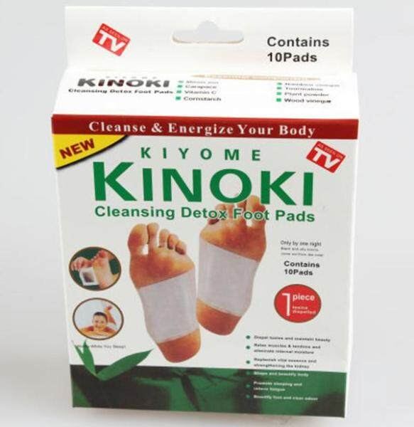 Buy Kinoki Detox Foot Patches 100PCS/10 boxes Singapore