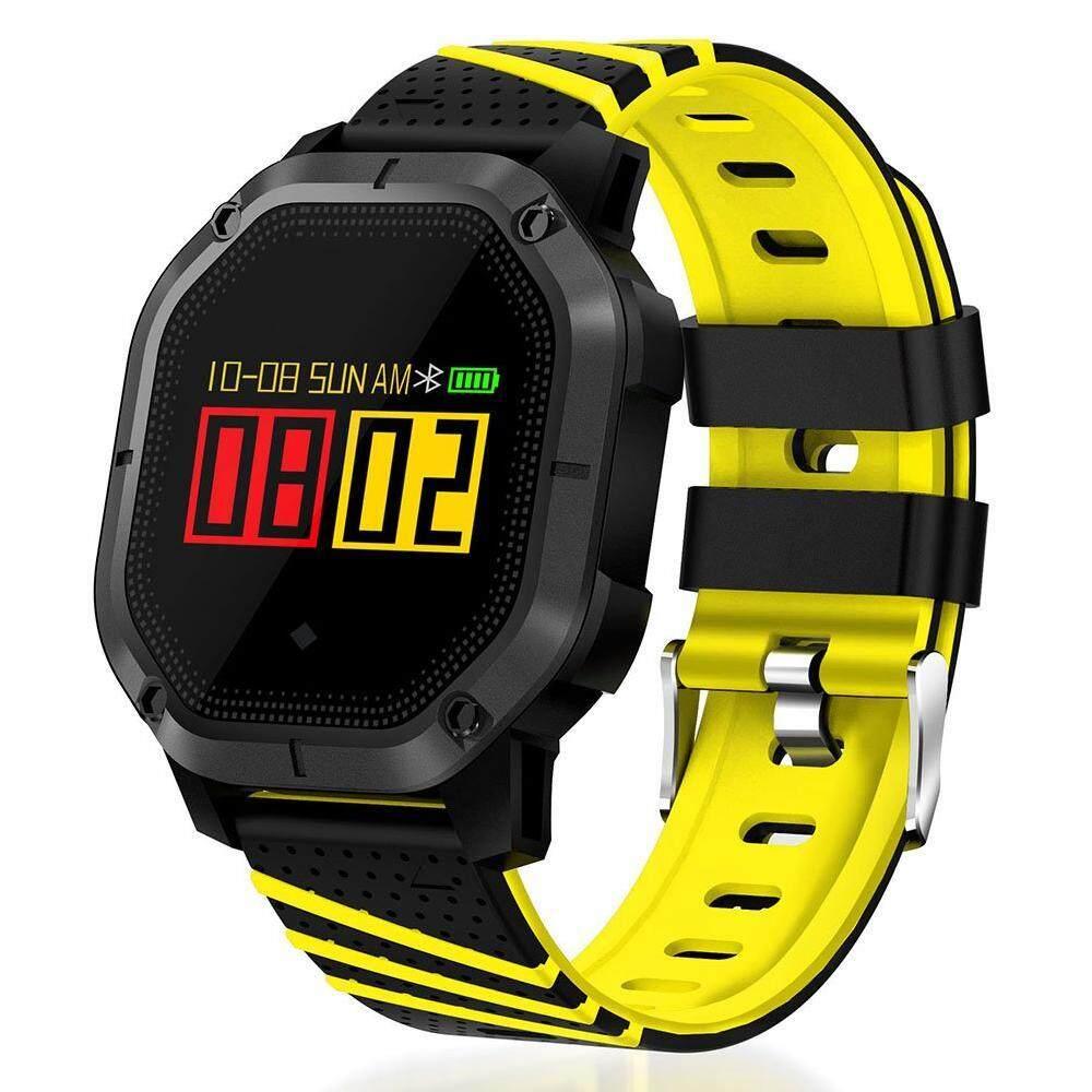 Zkyt Yuero Terbaru K5 Bluetooth 4.0 1.0 Inchtft Layar IP68 GSM Tahan Air Layar Sentuh Multifungsi Sport Smart Wrist Gelang Jam untuk Huawei Xiaomi samsung iPhone 4 Warna