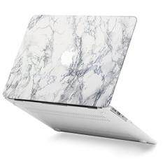 GMYLE White Marble Macbook Air 13 inch case Soft-Touch Matte Plastic Scratch Guard Cover for Macbook Air 13 inch (Model: A1369 & A1466) – intl