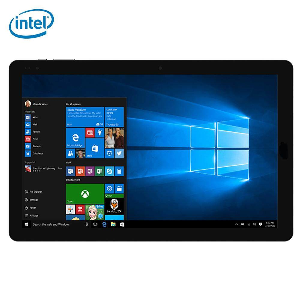 CHUWI HiBook Pro 2 in 1 Ultrabook Tablet PC 10.1 inch Windows 10 + Android 5.1 OGS Screen Intel Cherry Trail Z8300 64bit Quad Core 1.44GHz 4GB RAM 64GB ROM Dual Cameras Bluetooth 4.0